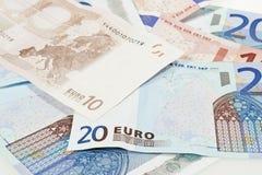 Eurozonewährung Lizenzfreies Stockfoto