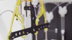 Nahaufnahme der Forschung der medizinischen Ausrüstung auf der Definition von Krebs stock video