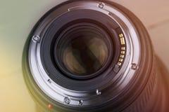 Nahaufnahme der Fotolinse Lizenzfreie Stockbilder