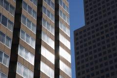 Nahaufnahme der Gebäude Stockfotografie