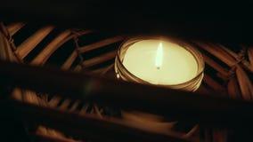 Nahaufnahme der Kerze Lizenzfreies Stockfoto