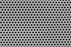 Nahaufnahme der Lautsprecheroberfläche. Lizenzfreies Stockbild