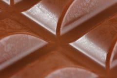 Nahaufnahme der Milchschokolade Lizenzfreies Stockbild