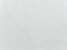 Nahaufnahme der nahtlosen Beschaffenheit des weißen Leders Hintergrund mit Beschaffenheit des weißen Leders Beige lederne Beschaf Lizenzfreie Stockfotos