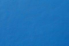 Nahaufnahme der nahtlosen blauen ledernen Beschaffenheit Stockfoto