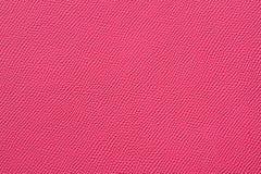 Nahaufnahme der nahtlosen rosa ledernen Beschaffenheit Lizenzfreie Stockbilder