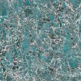 Nahaufnahme der natürlichen Aquaschiefer-Marmorplatte lizenzfreie stockbilder