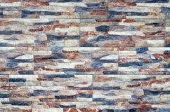 Nahaufnahme der natürlichen Oberfläche des Steinwand-Musters Modern und schaffen Sie Lizenzfreie Stockbilder