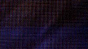 Nahaufnahme der Pixel des Monitors Rgb-Pixel im dem Fernsehen stock video