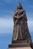Nahaufnahme der Statue der Königin Victoria in Albert Park, Auckland Stockbilder