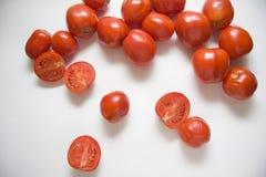 Nahaufnahme der Tomaten Stockbilder