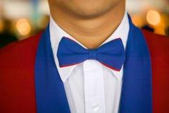 Nahaufnahme der Uniform des Kellners Stockfoto
