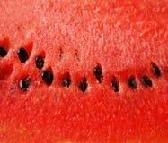 Nahaufnahme der Wassermelone Lizenzfreie Stockfotografie