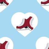 Nahaufnahme der weiblichen Handholding-Eisrochen draußen mit Schnee und Eis im Hintergrund Lizenzfreie Stockbilder