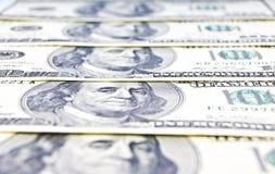 Nahaufnahme des amerikanischen Geldes Lizenzfreie Stockfotografie