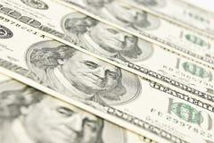 Nahaufnahme des amerikanischen Geldes Lizenzfreies Stockbild