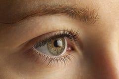 Nahaufnahme des Auges lizenzfreies stockbild