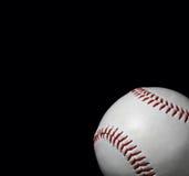 Nahaufnahme des Baseballs Stockfotografie
