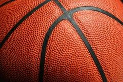 Nahaufnahme des Basketballs Stockfotografie