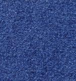 Nahaufnahme des Blue Jeansdenimtuches Stockbild