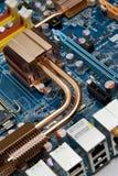 Nahaufnahme des elektronischen Kreisläufs. Lizenzfreies Stockfoto