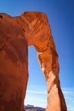 Nahaufnahme des empfindlichen Bogens, Moab Lizenzfreie Stockfotografie