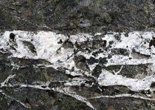 Nahaufnahme des Felsens mit Granitadern Lizenzfreie Stockbilder
