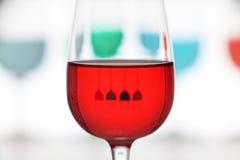 Nahaufnahme des Glases gefärbt Lizenzfreie Stockbilder