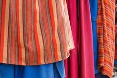 Nahaufnahme des Masaistammes Stockfotografie