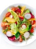 Nahaufnahme des Salats Lizenzfreie Stockfotos