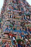 Nahaufnahme des Tempels in Indien Stockfotografie