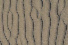 Nahaufnahme des vulkanischen Sandmusters Lizenzfreies Stockbild