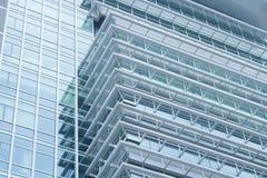 Nahaufnahme des Wolkenkratzers lizenzfreie stockfotografie