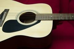 Nahaufnahme einer Gitarre Stockfoto