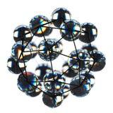 Nahaufnahme einer Nanostruktur gemacht vom Graphen stockfotos