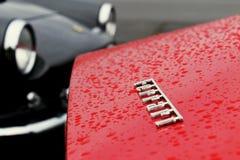 Nahaufnahme einer Weinlese Ferrari Lizenzfreies Stockfoto
