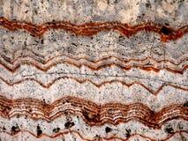 Nahaufnahme eines Felsens poliert, um Beschaffenheitshintergrundspur des Grand Canyon der Zeit zu zeigen, der ein Gebirgsmuster b lizenzfreies stockbild