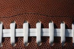 Nahaufnahme eines Fußballs Lizenzfreie Stockfotografie