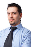 Nahaufnahme eines Geschäftsmannes. Lizenzfreies Stockfoto
