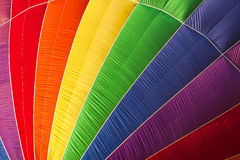 Nahaufnahme eines Heißluftballons Lizenzfreies Stockbild