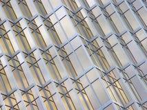 Nahaufnahme eines modernen Gebäudes Lizenzfreies Stockbild