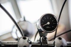 Motorrad-Geschwindigkeitsmesser Lizenzfreie Stockfotos