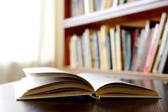 Nahaufnahme eines offenen Buches Lizenzfreies Stockbild