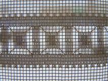 Nahaufnahme eines schönen umsponnenen Musters stockfotografie