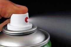 Nahaufnahme eines Sprays, auf dem wir bedrängen lizenzfreies stockbild