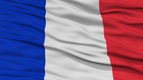 Nahaufnahme-Frankreich-Flagge lizenzfreie abbildung