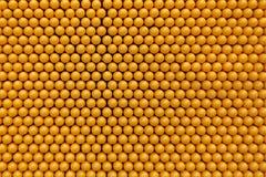 Nahaufnahme-gelbes Muster für die Kinder, die in der Schule spielen Stockfotografie