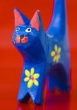 Nahaufnahme gemalter Katze 1 Stockbilder