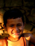 Nahaufnahme-Lächeln lizenzfreie stockfotos