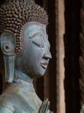 Nahaufnahme - Laotianer Buddha Lizenzfreies Stockbild